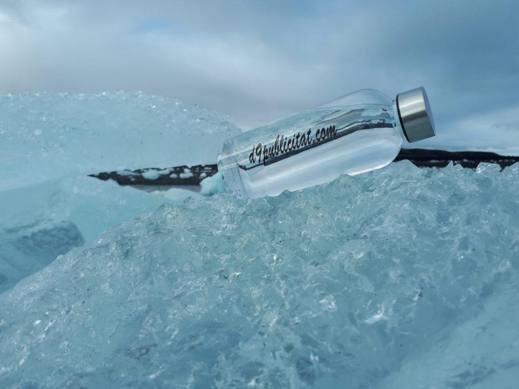Material promocional botella isidre
